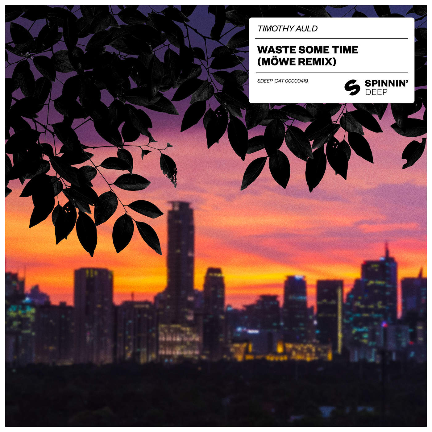 Timothy Auld - Waste Some Time (Möwe Remix) - Single