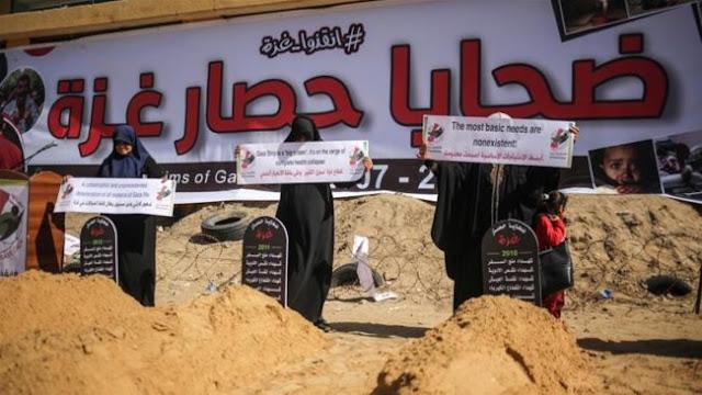 1.000 Warga Pesisir Pantai Gaza Tewas Akibat Blokade Zionis