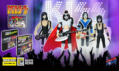 "San Diego Comic-Con 2016 Exclusive ""Unmasked"" KISS Deluxe Action Figure Set by Bif Bang Pow! x Entertainment Earth"