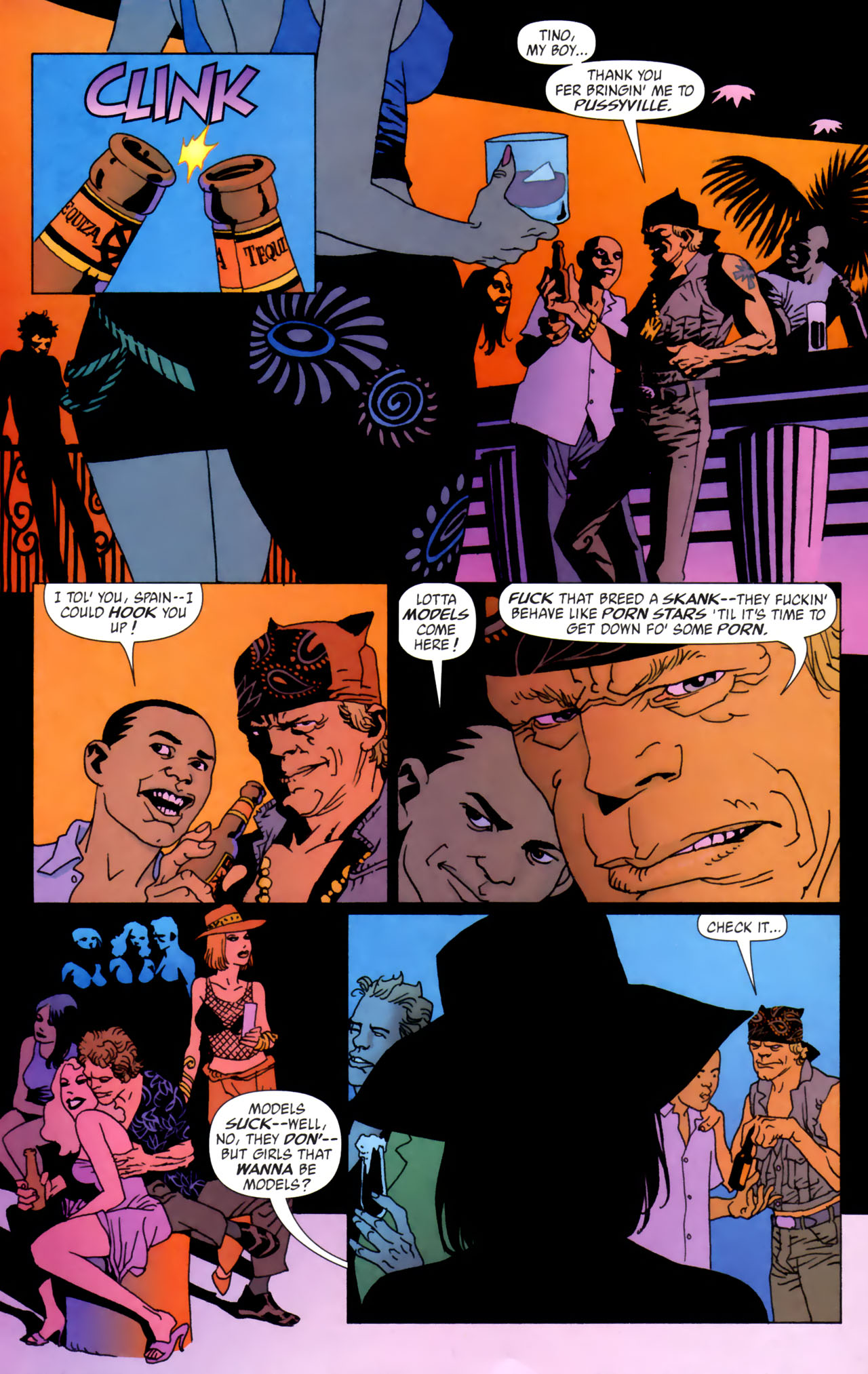 Read online 100 Bullets comic -  Issue #61 - 14