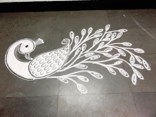 Rangoli Images Download peacock designs