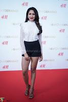 Pragya Jaiswal in lovely Black Mini Skirt and White Transparent Shirt ~  Exclusive 073.JPG