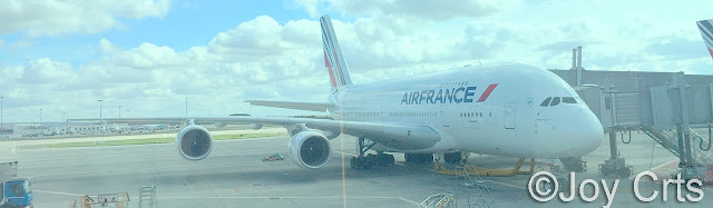 A380 à Paris CDG