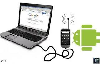 Cara Menggunakan HP Smartphone Menjadi Modem Hotspot