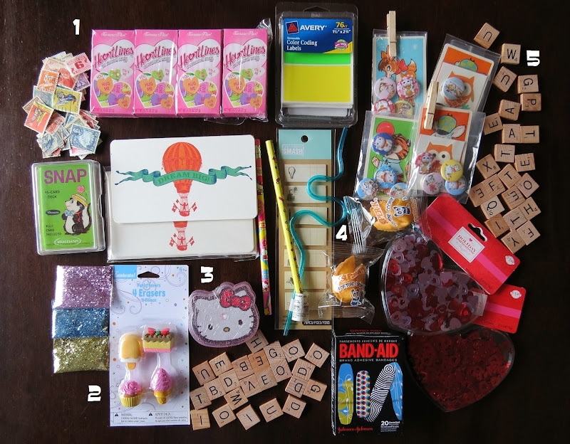 miki's scrapbook: 25 things you can send to your pen-pals