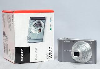 Kamera Digital bekas - Sony DSC W810
