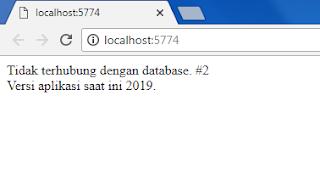 Ini yang terjadi ketika menginstall ulang aplikasi Dapodik  Dapodik 2019 Tidak Terhubung Database #2 Versi Aplikasi Saat Ini 2019