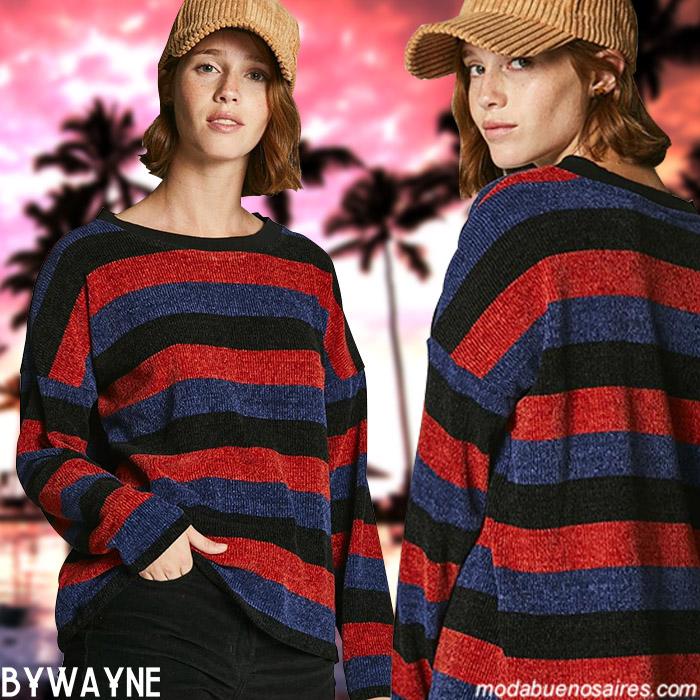 Sweaters invierno 2019. Ropa de mujer invierno 2019 moda.