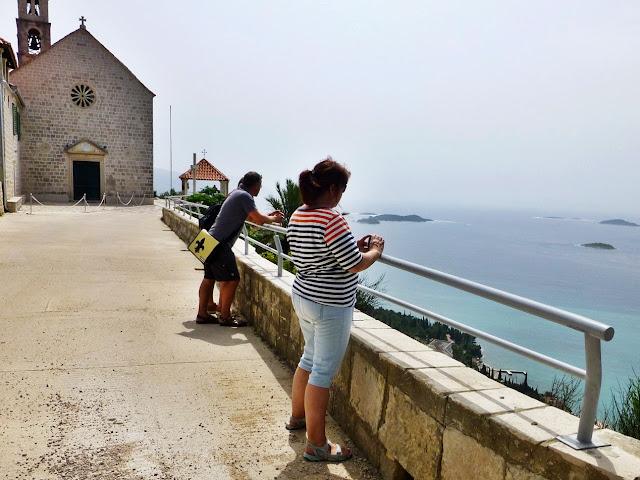 Aussicht auf Meer - Orebic - Kroatien
