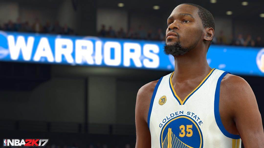 NBA 2k17 Screenshot : Kevin Durant