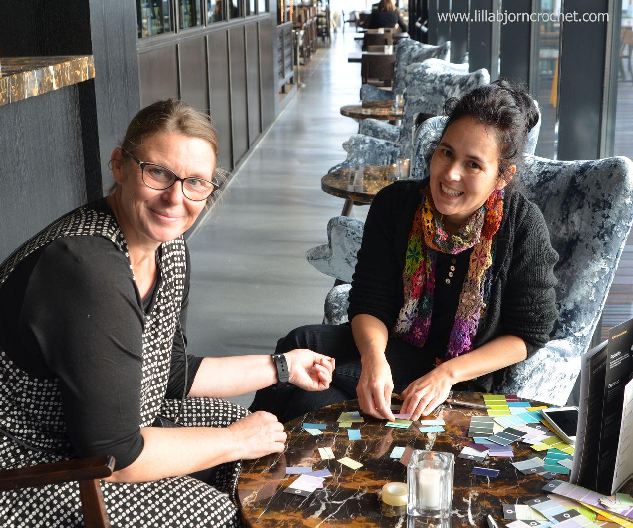 Scheepjes Bloggers Days 2016: Jellina Creations and Atty's