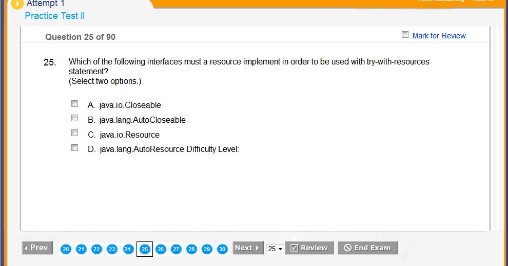 Top 10 Ocajp And Ocpjp Exam Simulators For Java Certifications Java67