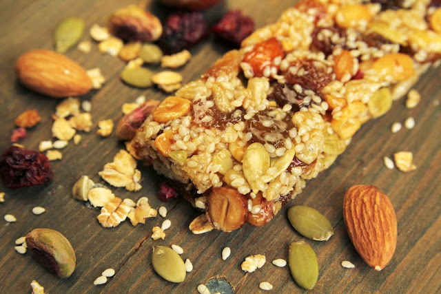Stock up on healthy granola bars when guests come into town