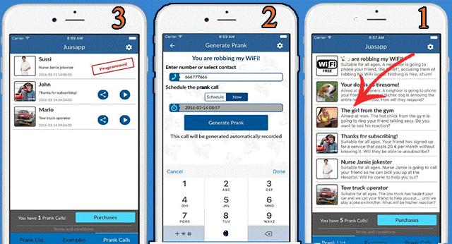 إخدع أصدقائك بهذا التطبيق الرهيب الذي يرسل مكالمات وهمية لأرقام هاتفية محددة و ويقوم بتسجيلها !