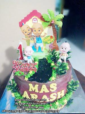 Birthday Cake Upin Ipin