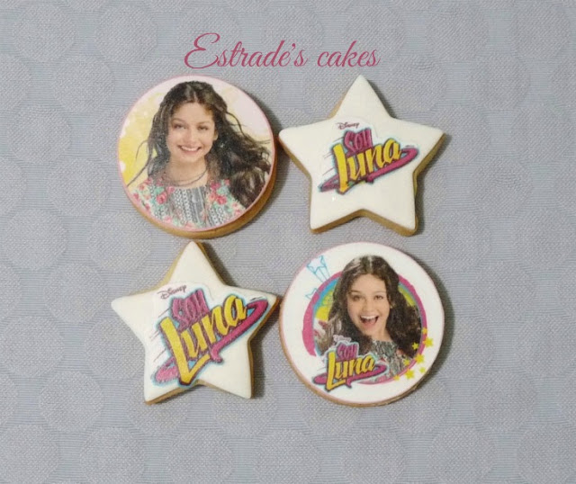 galletas decoradas de Soy Luna 1