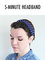 Five Minute Headband