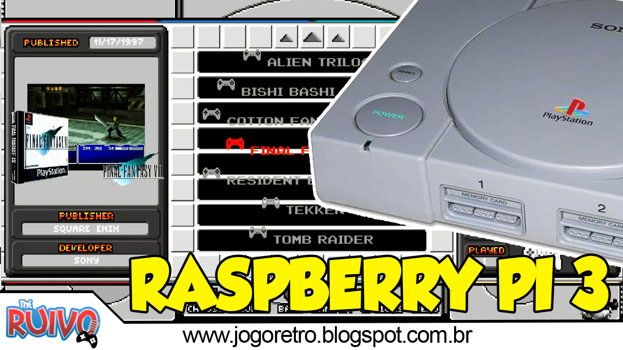 recalbox 4.1 raspberry pi 3