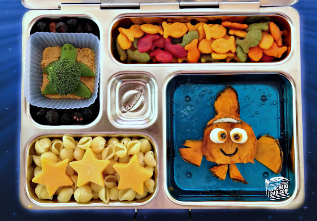 Finding Nemo easy kids lunch