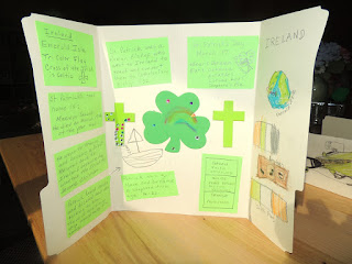 St Patrick and Ireland Lapbooks - Homegrown Catholics
