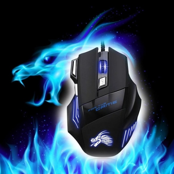 Optical LED Lighting Mouse Gamer for Computer Overwatch Pubg Dota 2