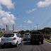 Rodovia BR-101 entre o Natal Shopping e o IV Centenário trânsito complicado