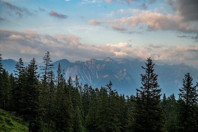 Wanderung auf die Mondspitze  Brandnertal Bürserberg  Wanderparkplatz Tschengla  Alpe Rona  Alpe Furkla 15