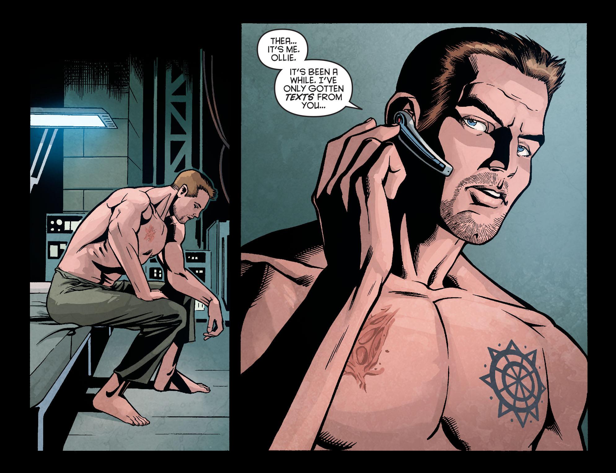 Read online Arrow: Season 2.5 [I] comic -  Issue #9 - 8