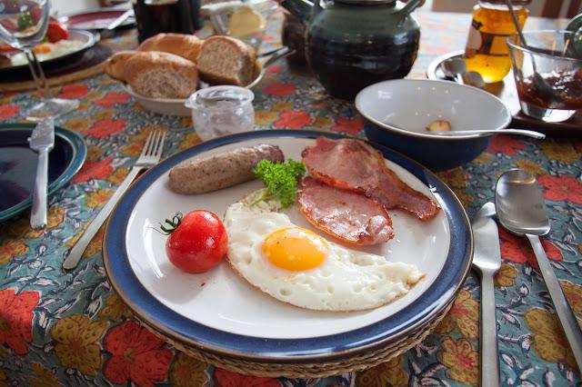 Colazione alla guest house Burifa