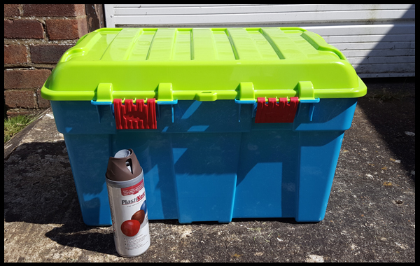 how to turn a toybox into a treasure chest