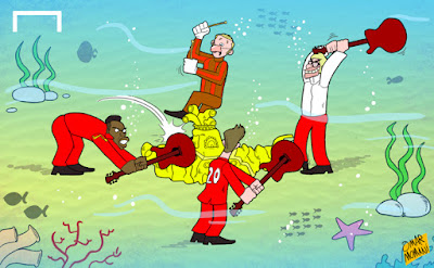 Liverpool sunk the Yellow Submarine