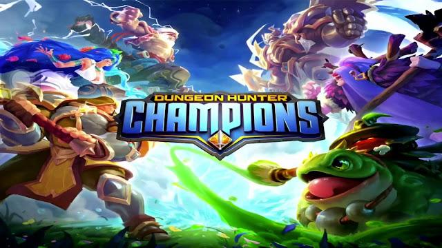 Dungeon Hunter Champions BAIXAR APK+OBB