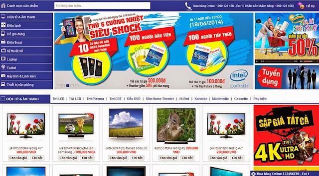 Thiết kế xây dựng trang web trong kinh doanh online