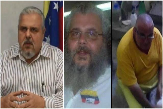 Trasladan a Vasco Da Costa y otros presos políticos al Táchira