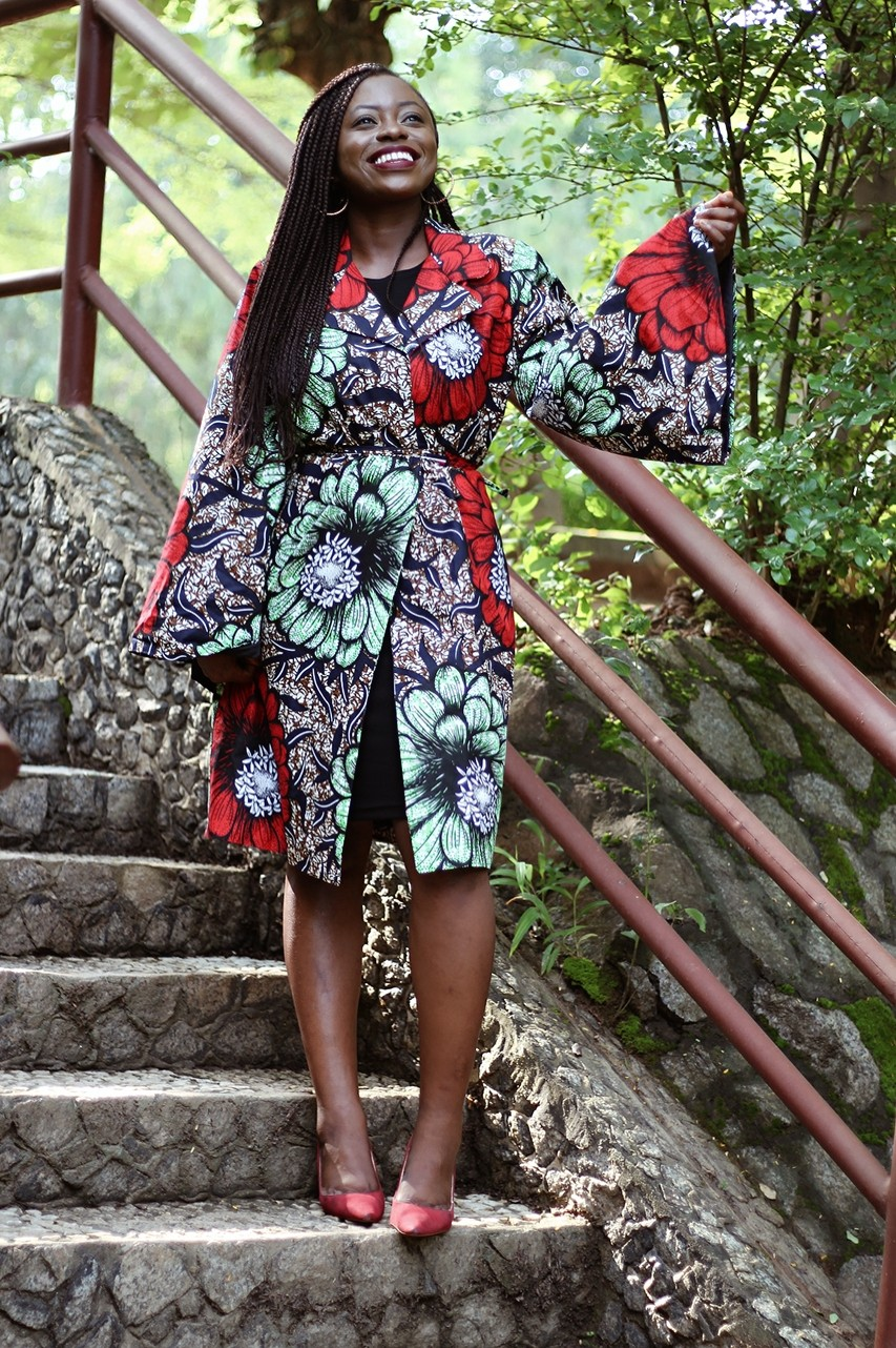 Made in Nigeri ankara dress