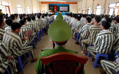 Court hearing, Vietnam