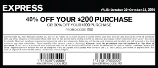 Express coupons march