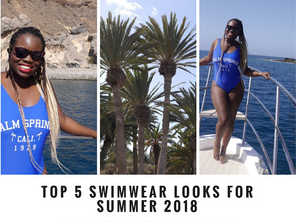 FASHION| TOP  SWIMWEAR LOOKS FOR SUMMER 2018