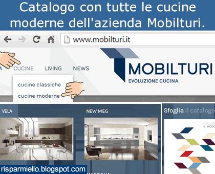Risparmiello: Mobilturi catalogo cucine moderne