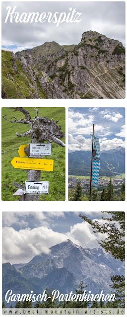 Kramerspitz | Bergtour Garmisch-Partenkirchen | Wandern Ammergauer Alpen | GPS-Track + Tourenbericht