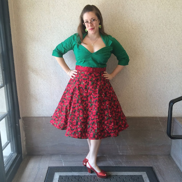 women's strawberry skirt
