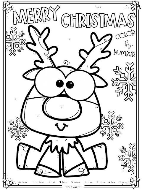 https://www.teacherspayteachers.com/Product/Christmas-Color-by-Number-FREEBIE-4242223
