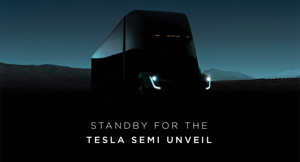 Tesla Semi Truck Unveiled; Plus New Roadster, 'Quickest Car in the World'