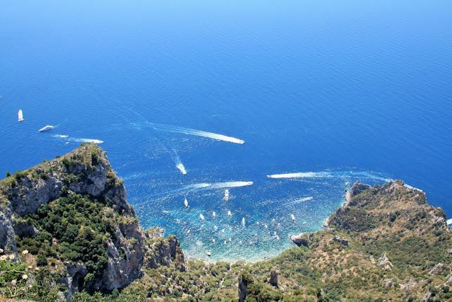 mare, acqua, barche, Anacapri