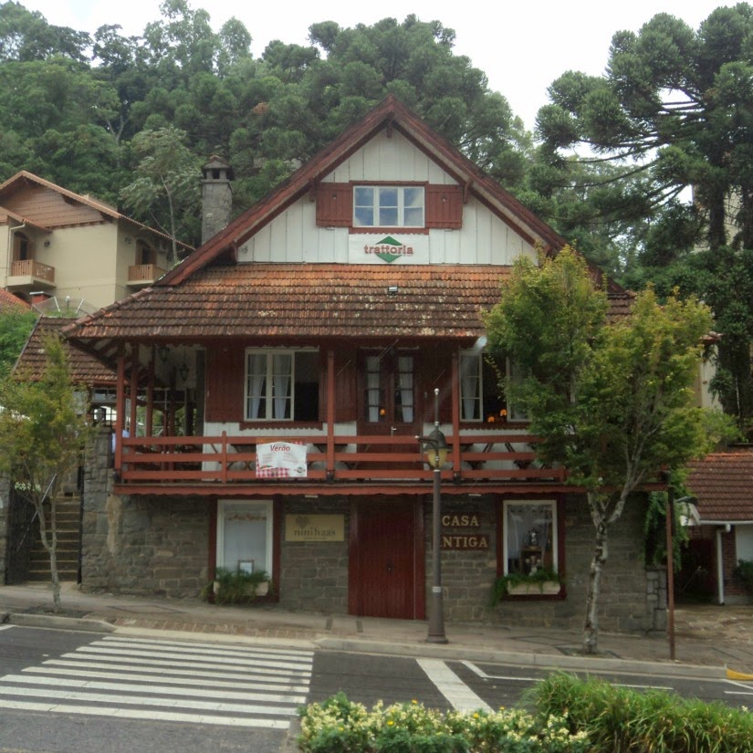 Casa do Major Nicoletti, A Casa Antiga, Gramado