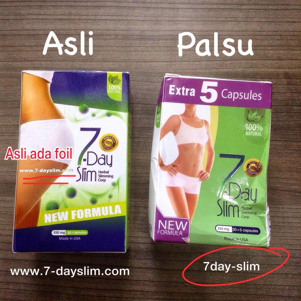 Jual 7 Day Slim Platinum Colagen Herbal