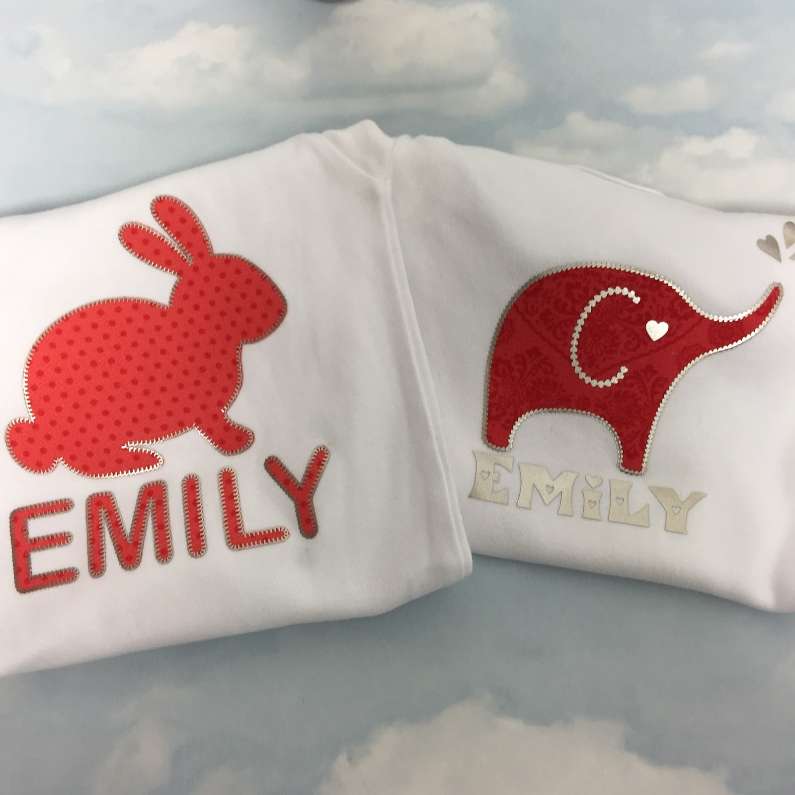 Silhouette UK: No Sew Appliqué with HTV Embroidery Stitching