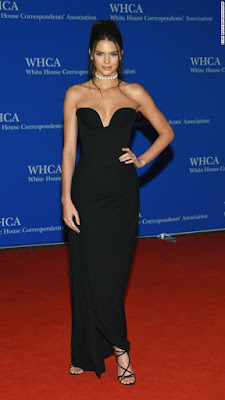 United state White house Dinner red carpet  with Kendall Jenner, Emma Watson, Kerry Washingto