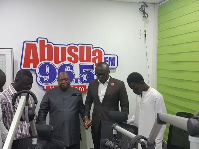 Kwame Adinkra kicks off Abusua FM's soft programming with #Abusuankomo
