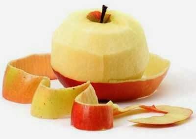 kulit apel memanjangkan rambut